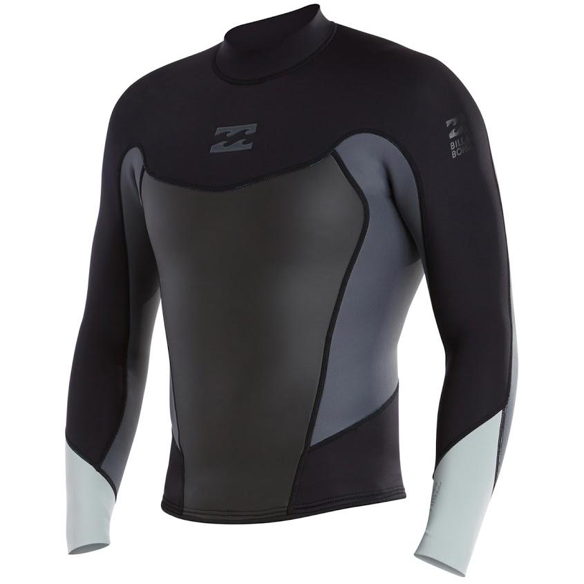 6c1a60a0b3 Billabong 202 Foil 2mm Men s Wetsuit Jacket -Grey - PleasureSports.com