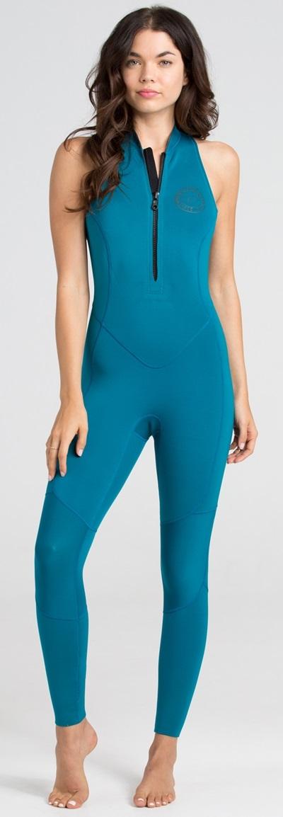 b61caa80160593 Billabong SALTY JANE 2mm Women s Wetsuit Sleeveless Surf Capsule Limited  Edition - Maldive