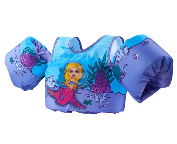 Mermaid New Body Glove Paddle Pals Learn To Swim Life Jacket Kids 30-50 lbs