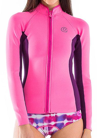 Glidesoul 1mm Neoprene Jacket Women S Pink