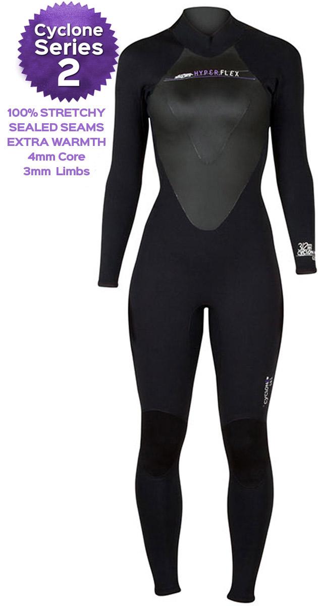 7e19551b6e Hyperflex Cyclone 2 5/4mm Women's Wetsuit - ALL NEW DESIGN!