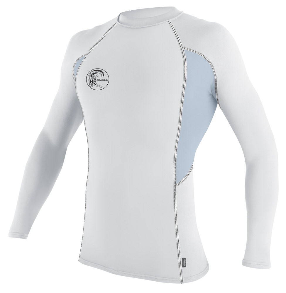 d62b91a69c O'Neill Skins Graphic Long Sleeve Crew Men's Rashguard 50+ UV Protection
