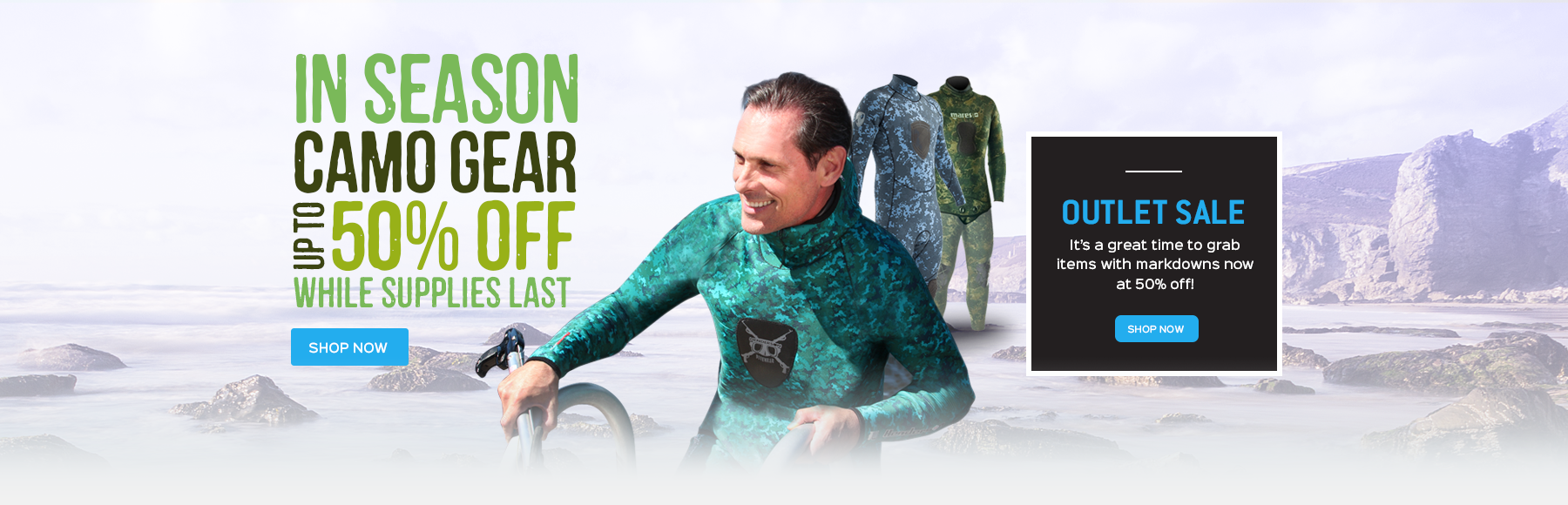 Camouflage Wetsuit Sale