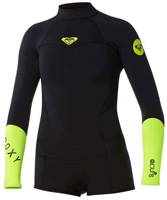 d24979ba7f CLEARANCE roxy syncro springsuit black with yellow. Best Seller - LIMITED  EDITION with 100% Stretch