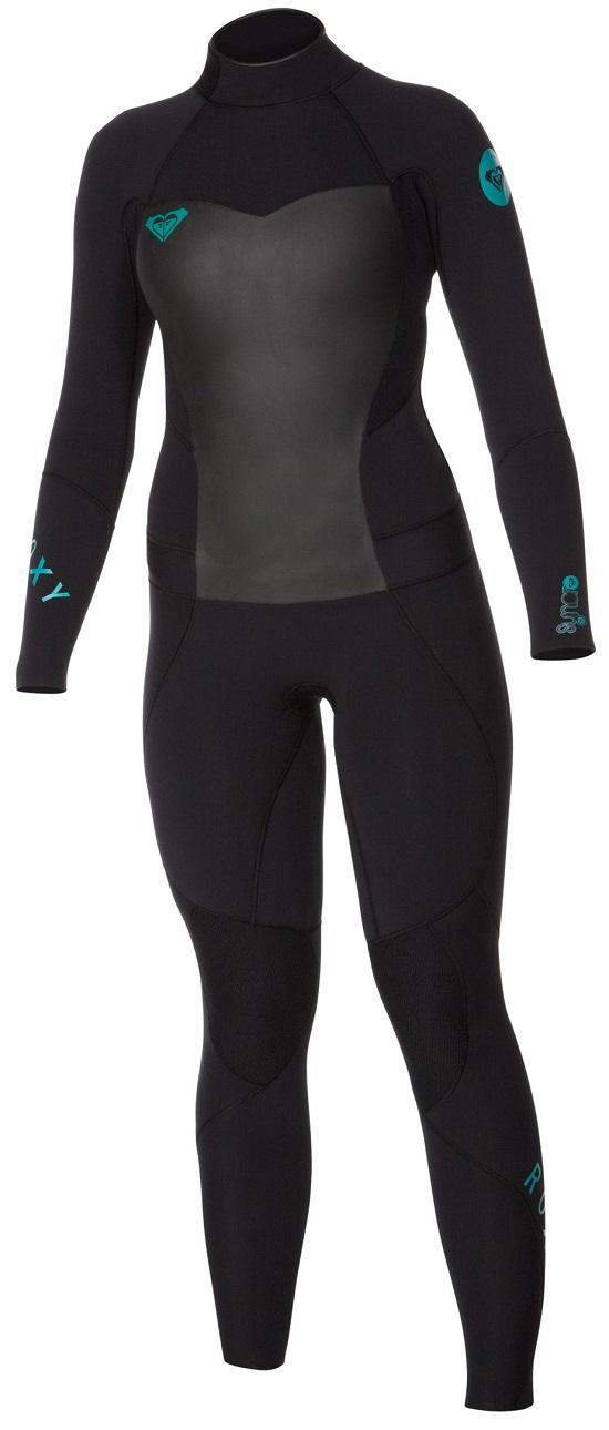 1e07485978 Roxy Syncro 5 4mm Women s Wetsuit COLD WATER ARJW103011 - Black ...