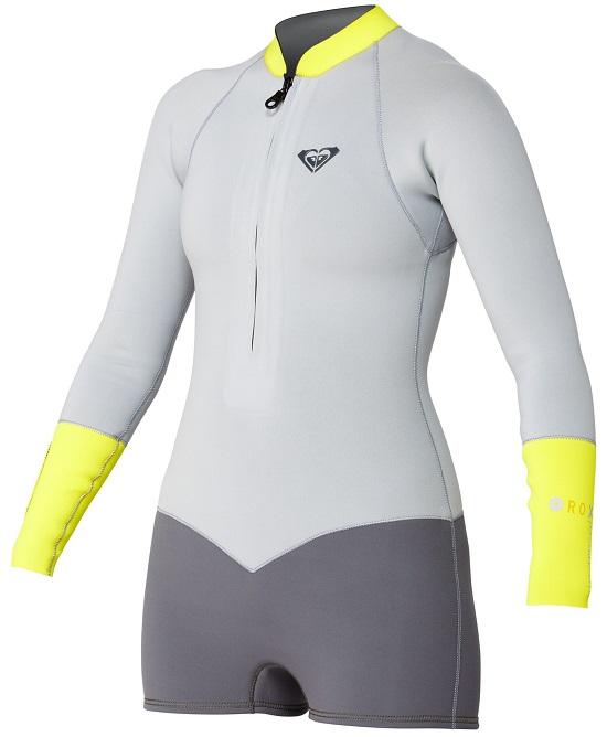 Roxy Long Sleeve Front Zip Springsuit Wetsuit 2mm ARJW400005-XKSY ... 06758ffa8