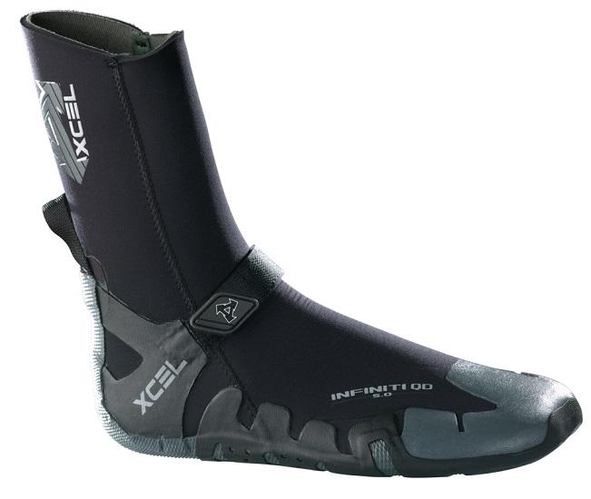 Xcel Infiniti Neoprene Boots 5mm   Xcel