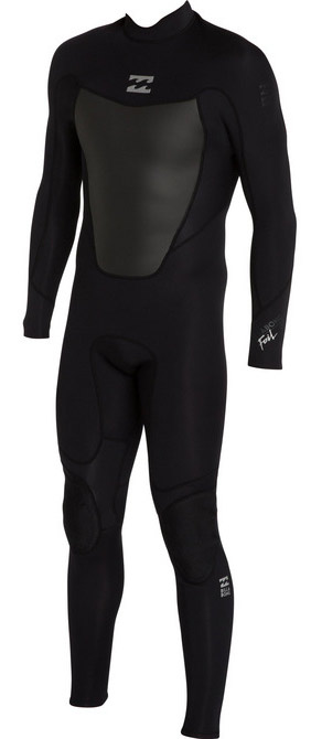 Billabong Foil 302 Mens 3/2mm GBS Full Wetsuit - Black