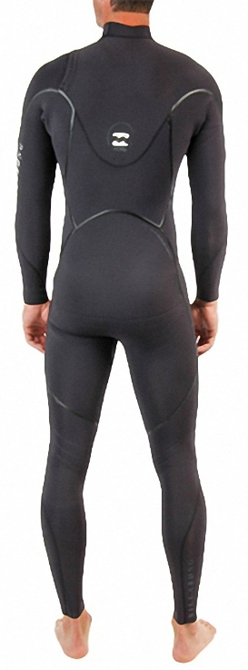 Billabong Xero Revolution 302 Men's Chest Zip 3/2mm Full Wetsuit - Black - MWFU3RC3-BLK