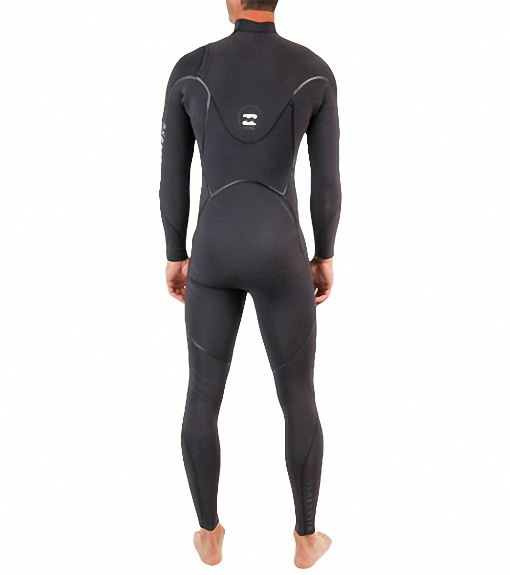 Billabong Xero Revolution 403 Men's Chest Zip 4/3mm Full Wetsuit - Black - MWFU3RC4-BLK
