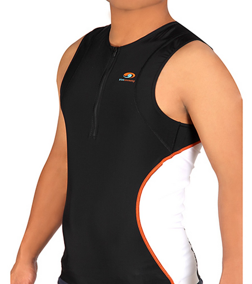 Blue Seventy Men's Tri Zip Top Triathlon -