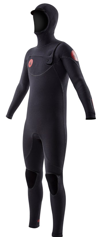 Body Glove 5/4/3 Red Cell Men's Hooded Wetsuit