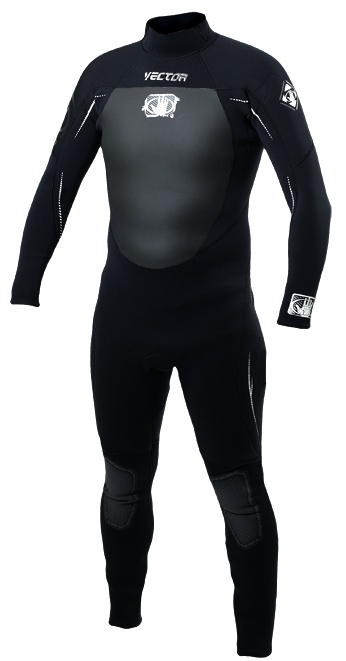 Body Glove Men's Wetsuit 3/2mm GBS (Sealed Seams) Back Zip Stretchy Dive Surf