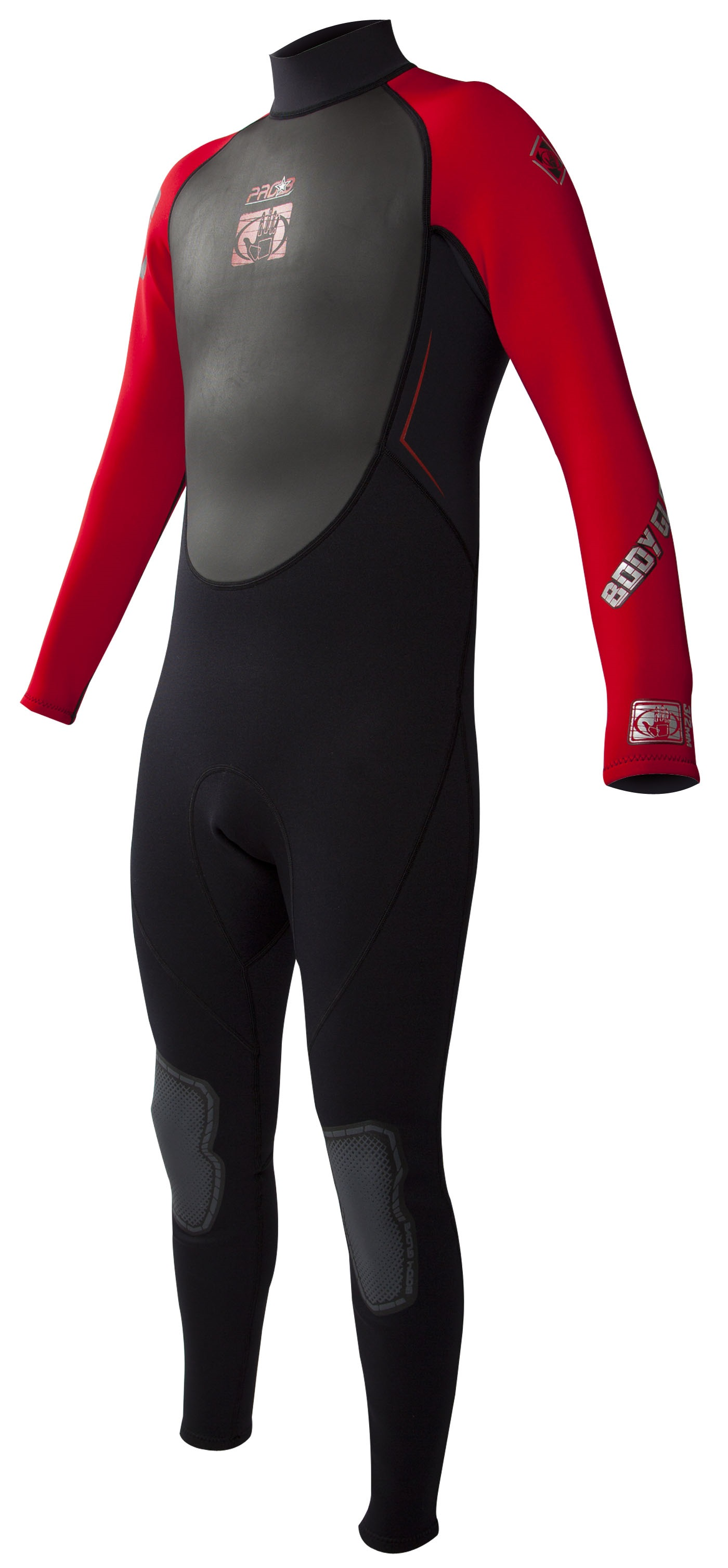 Body Glove Men's Pro 3 3/2mm Full Wetsuit - Black/Red
