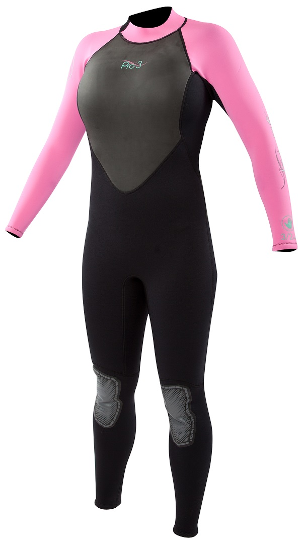 Body Glove Pro3 Women's Wetsuit 3/2mm Pink - LIMITED EDITION