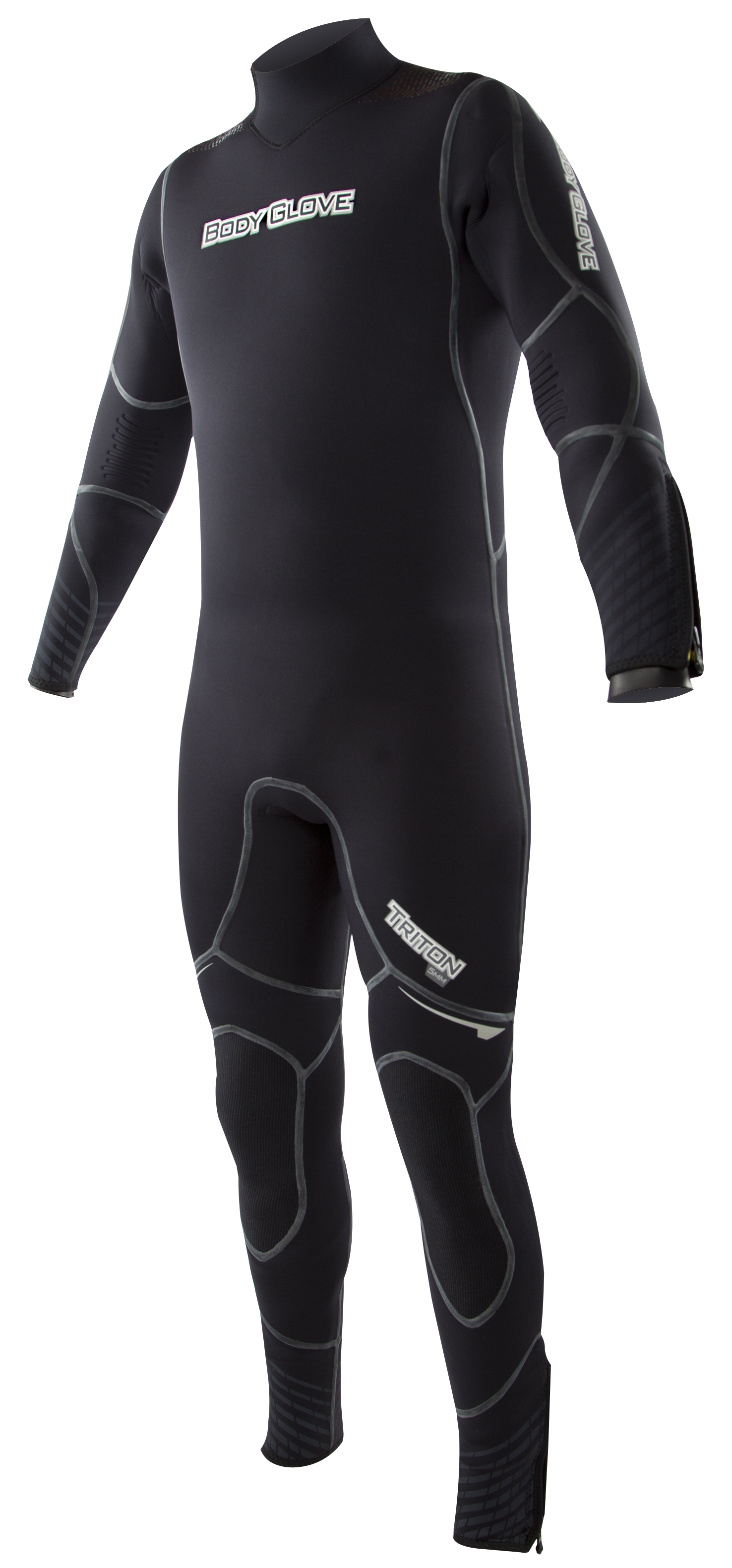 Body Glove Triton 5mm Men's Backzip Fullsuit - Black