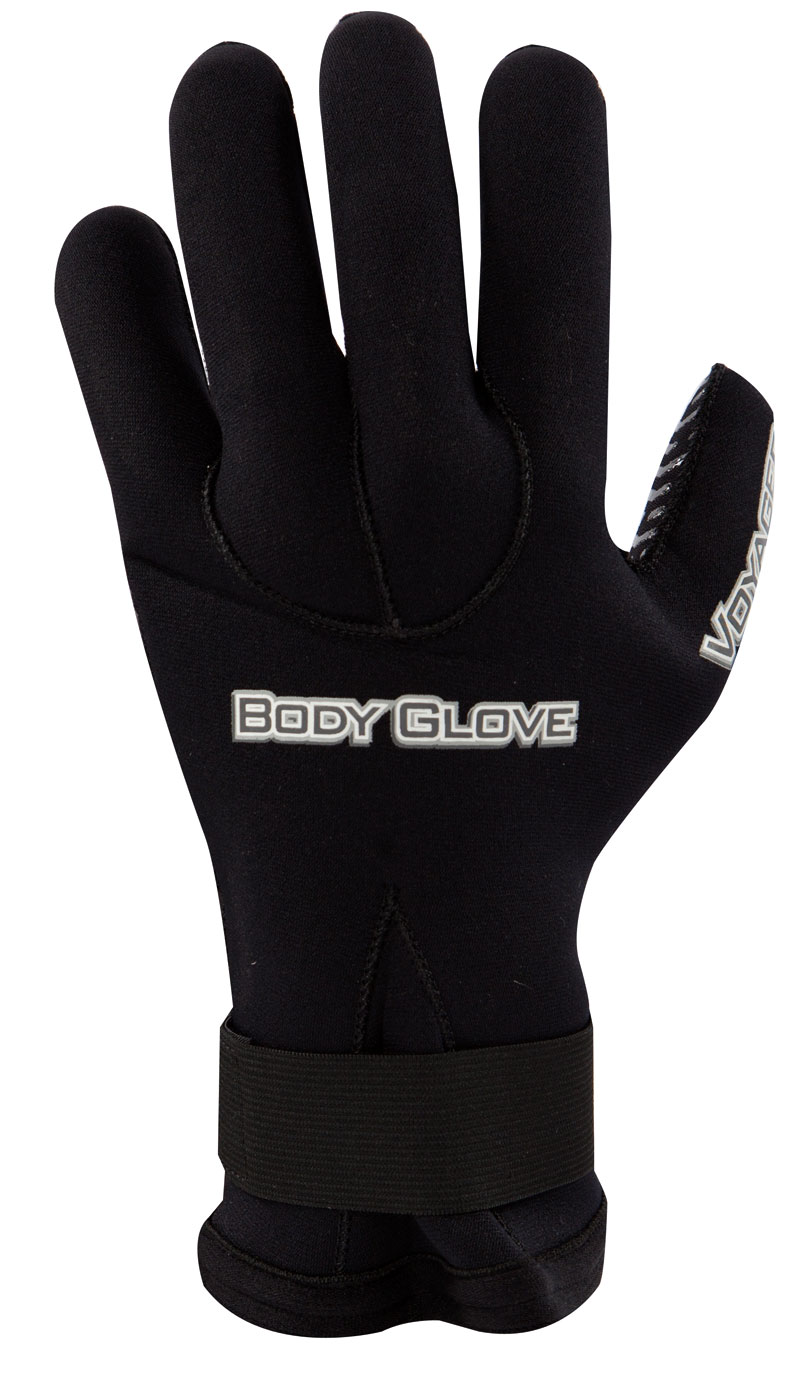 Body Glove Voyager 3mm 5 Finger Glove - Black