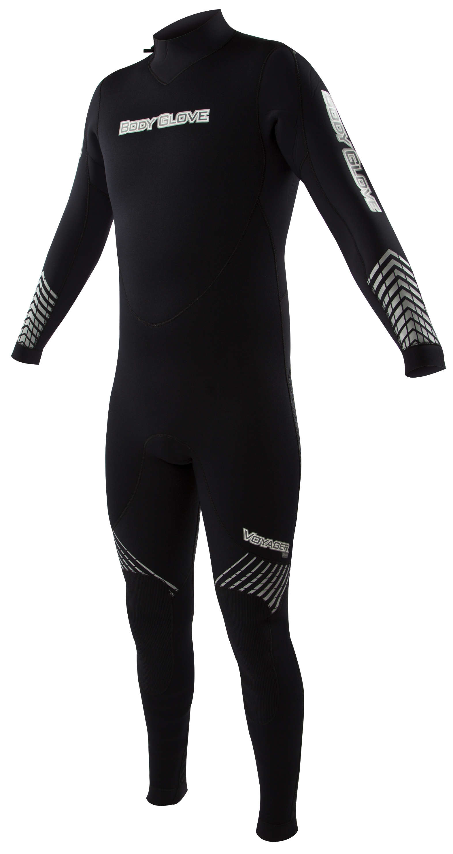 Body Glove Voyager 3mm Men's Backzip Fullsuit -Black