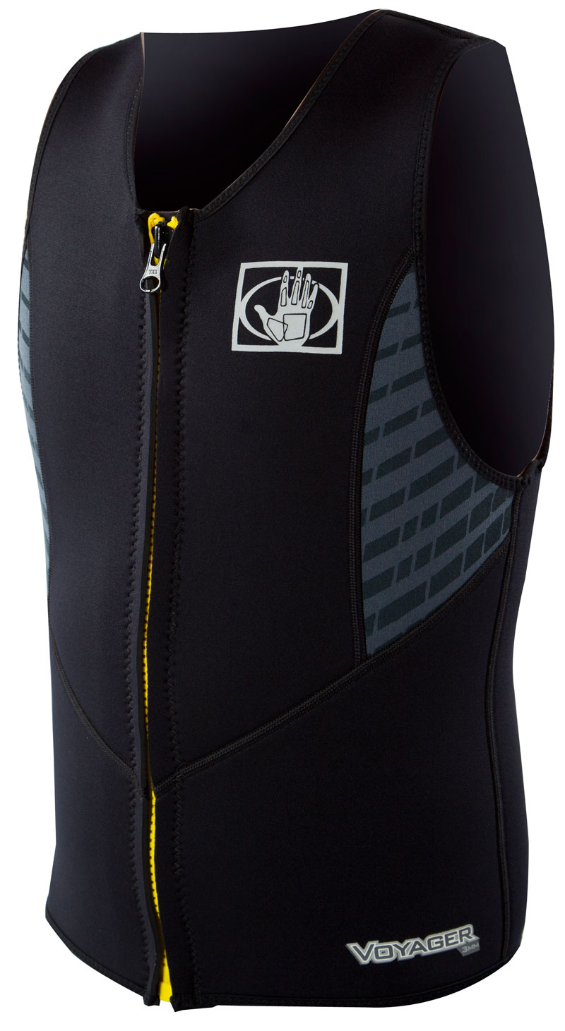 Body Glove Voyager Vest 3mm Men's Frontzip- Black