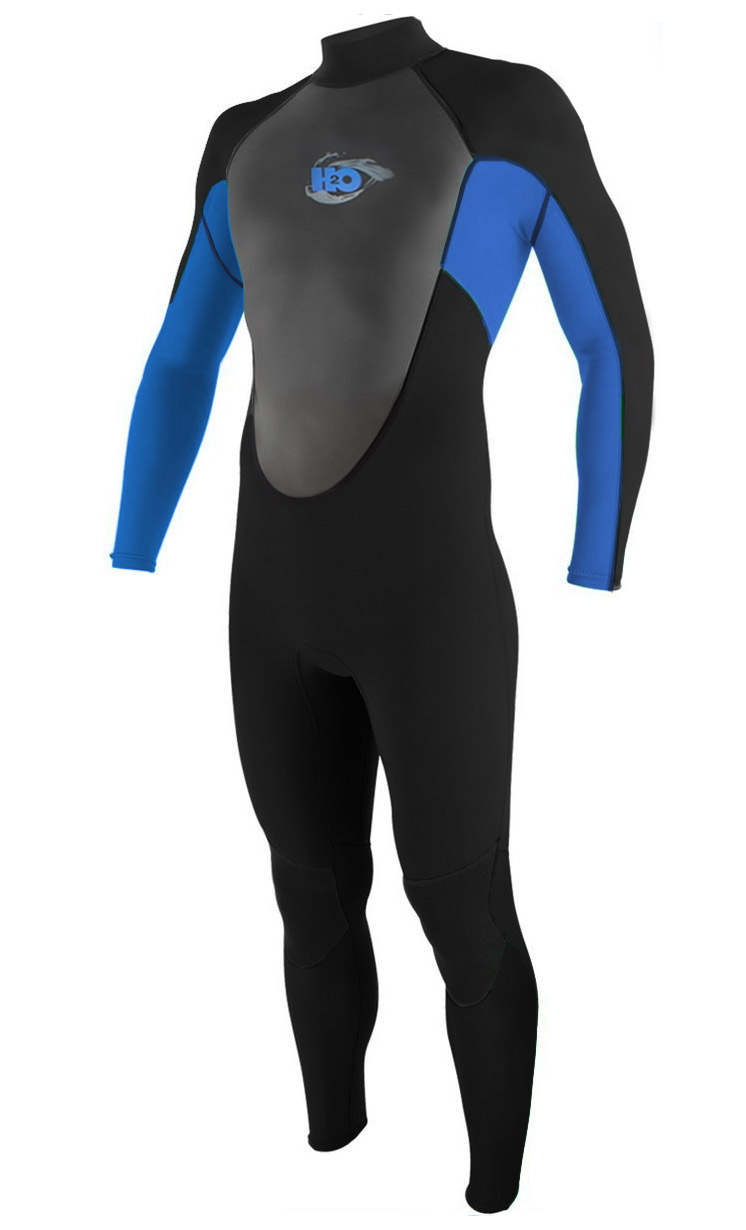 H2Odyssey 4/3mm Momentum Men's Wetsuit GBS - Black/Blue -