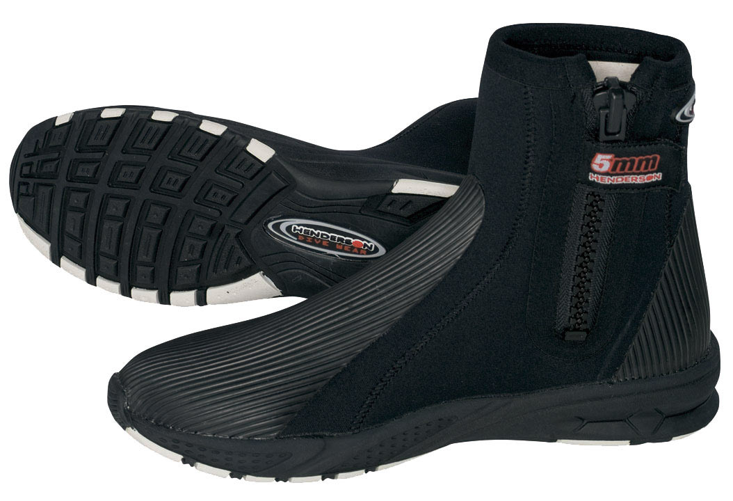 Henderson 5mm Molded Sole Zippered Dive Boot