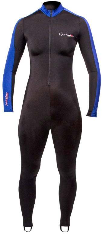 Henderson Lycra Hot Skin Jumpsuit Black/Blue