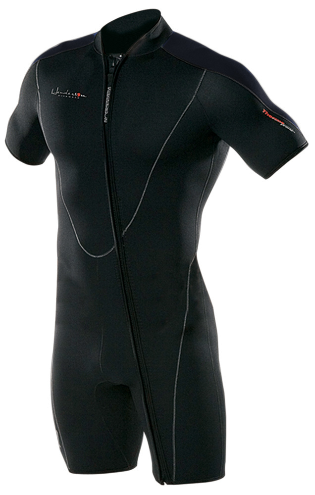 Henderson Men's 3mm Thermoprene Front Zip Shorty Wetsuit