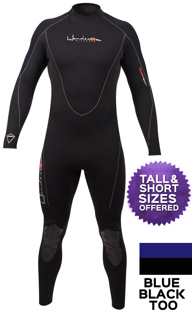 Henderson 3mm THERMOPRENE Men's Wetsuit Full Length GBS - Plus Sizes Available