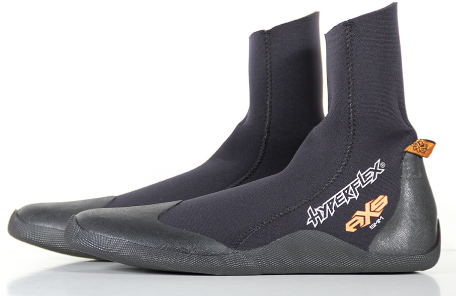 Hyperflex 5mm Cold Water Surf Boot AXS Rount Toe