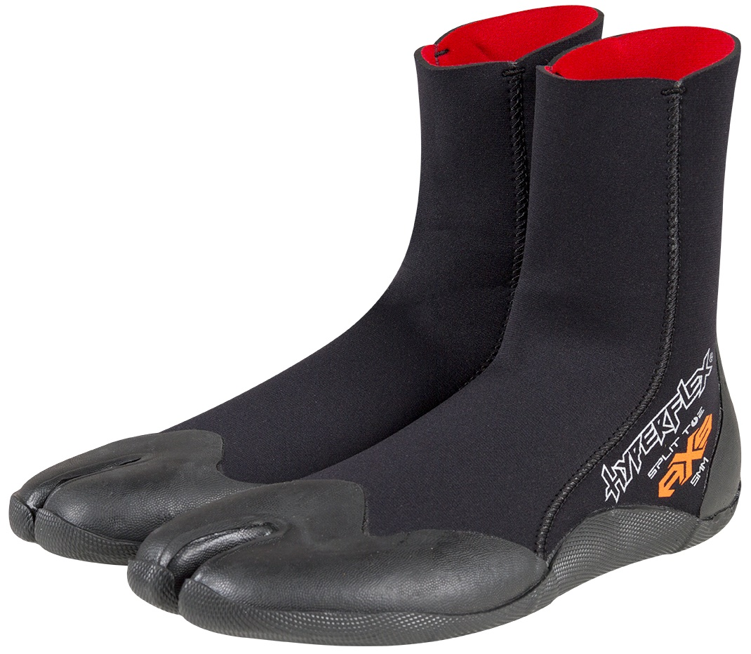 Hyperflex 5mm Cold Water Surf Boot AXS Split Toe Boots