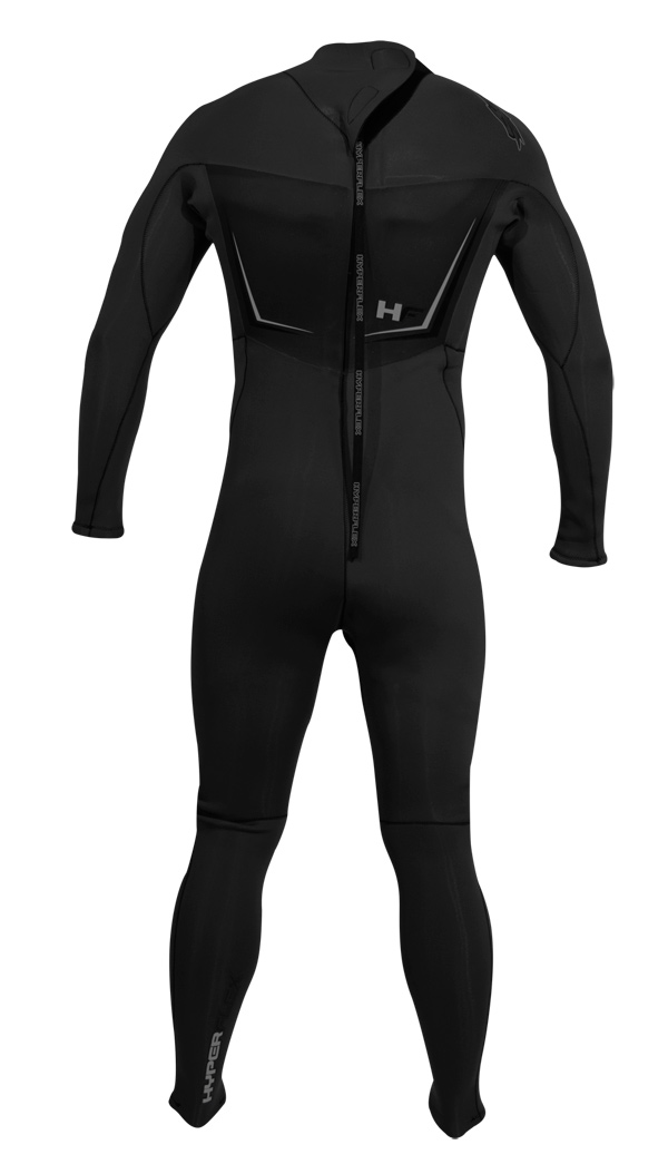 Hyperflex Cyclone 2 4/3mm Men's Wetsuit - ALL NEW DESIGN! - XD843MB-01
