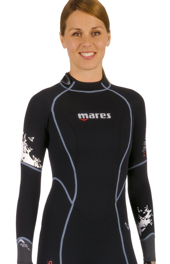 Mares 1mm Coral USA She Dives Women's Wetsuit - 482084