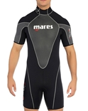 Mares 3mm Reef Men's Shorty Wetsuit -