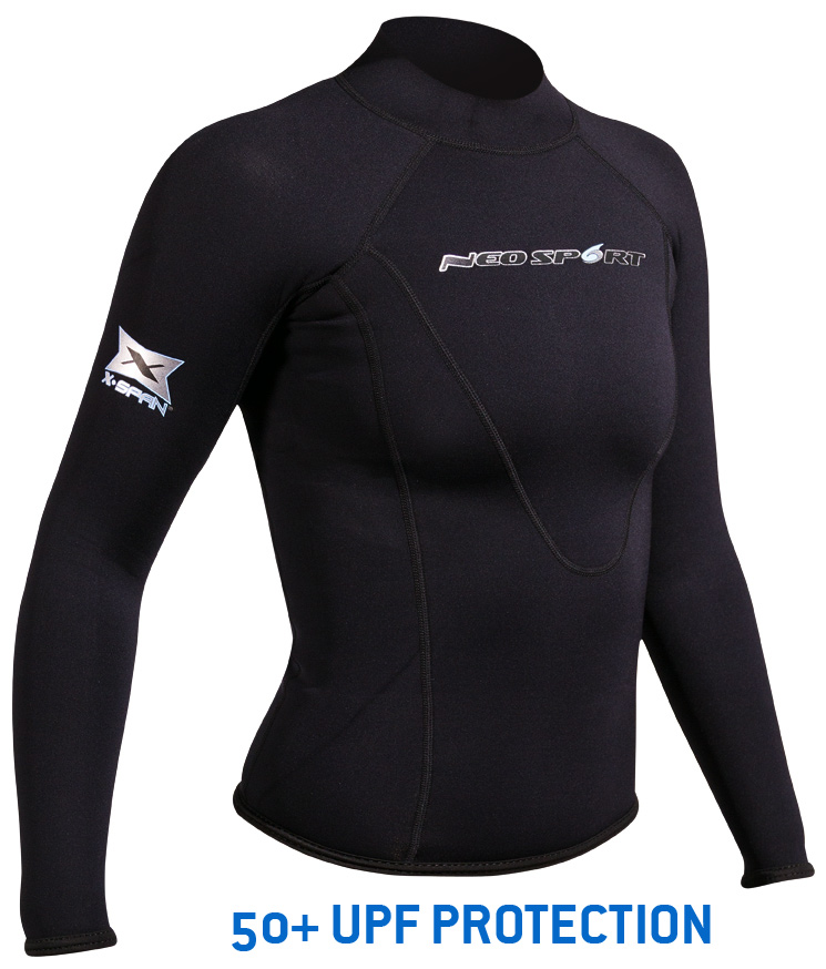 NeoSport Womens 1.5mm XSPAN Long Sleeve Top