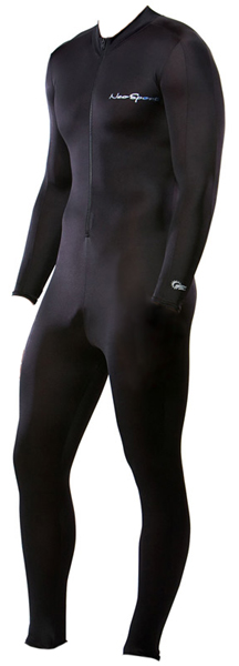 Skins Suit Men's Women's 50+ UV Protection by NeoSport - Black -