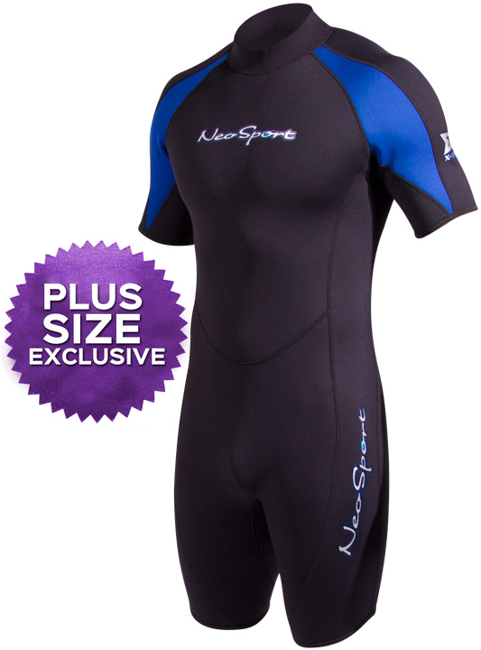NeoSport XSPAN Men's 3mm Shorty Wetsuit