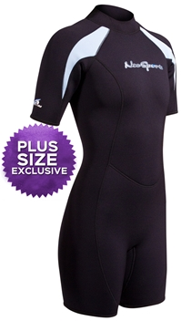 NeoSport XSPAN Women's 3mm Shorty Wetsuit