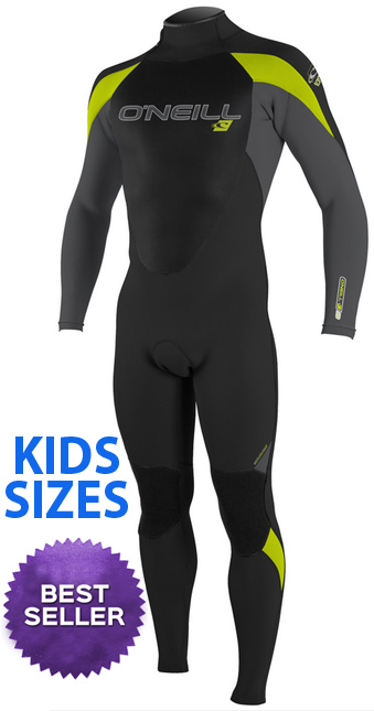 kids oneill epic wetsuit juniors boys girls