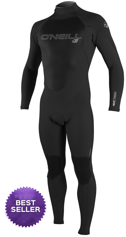 O'Neill Epic Men's Wetsuit 4/3mm Full Wetsuit GBS Black