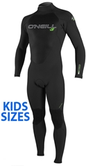 O'Neill Epic Wetsuit Youth 4/3mm Full Wetsuit Junior Boy's & Girl's -