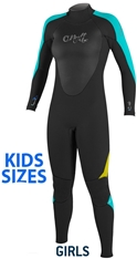 O'Neill Girls Epic Wetsuit 4/3mm Full Youth -