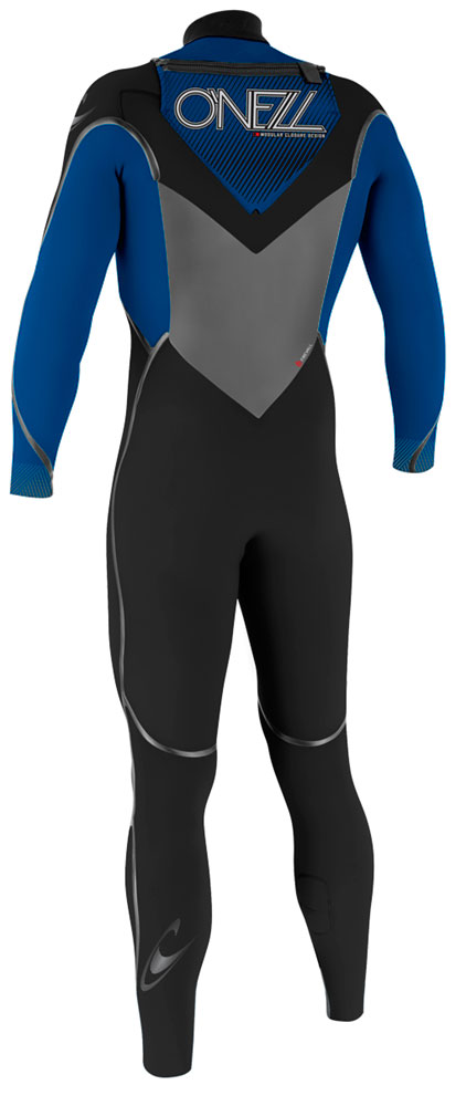 O'Neill Mutant 5/4mm Hooded Wetsuit Junior Boys & Girls - Black/Blue - 4198-Z91