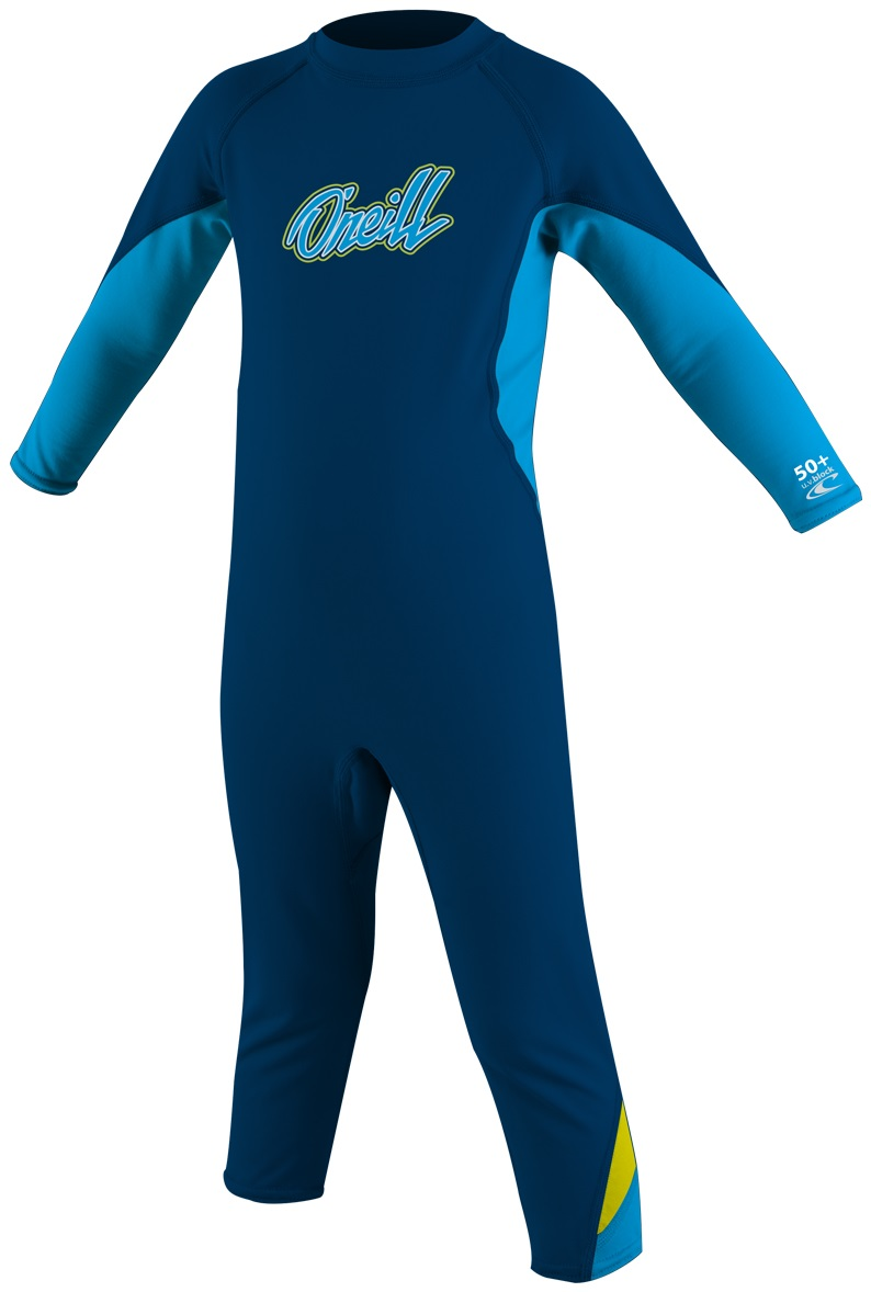 O'Neill Ozone Toddler Skinsuit Full Boys Sun Protection -Blue
