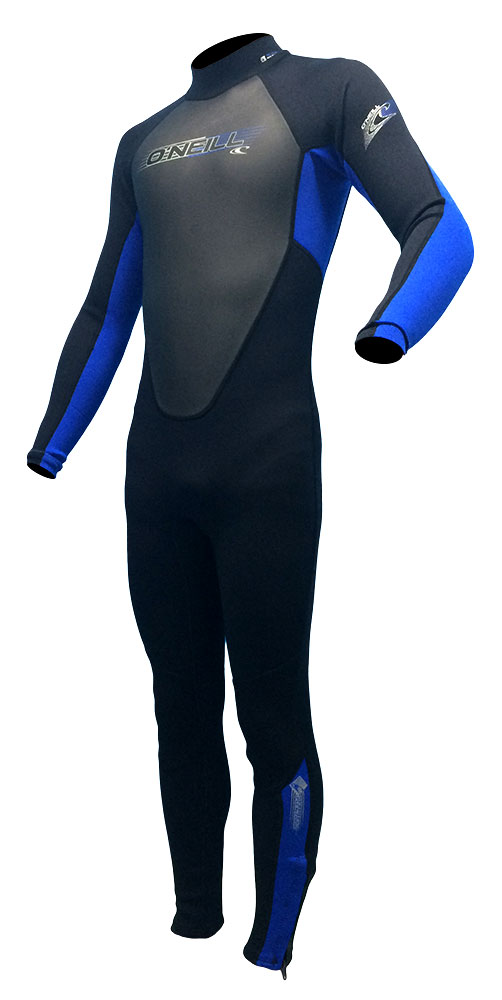 O'Neill Reactor 3/2mm Junior Wetsuit Kids Wetsuit Boys & Girls- Black/Blue -