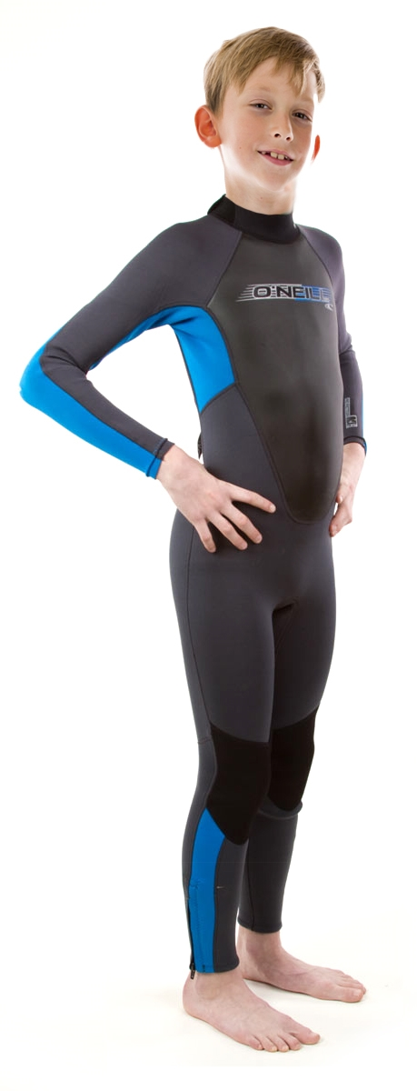 O'Neill Reactor Junior Wetsuit Kids  3/2mm Unisex - Black/Blue