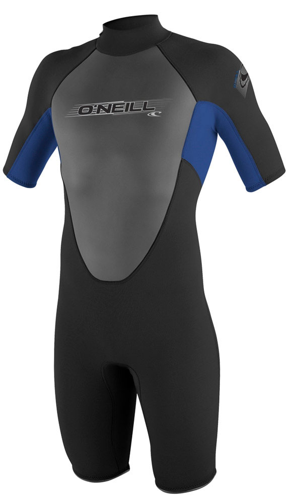 O'Neill Reactor Springsuit Shorty Wetsuit Men's 2mm - Blk/Blue
