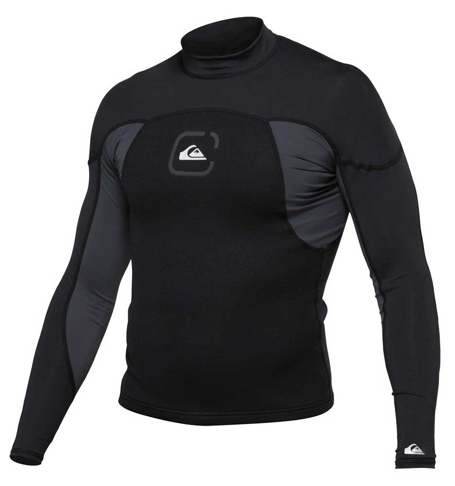 Quiksilver 1mm Neo Surf Shirt Men's Lycra & Neoprene Jacket