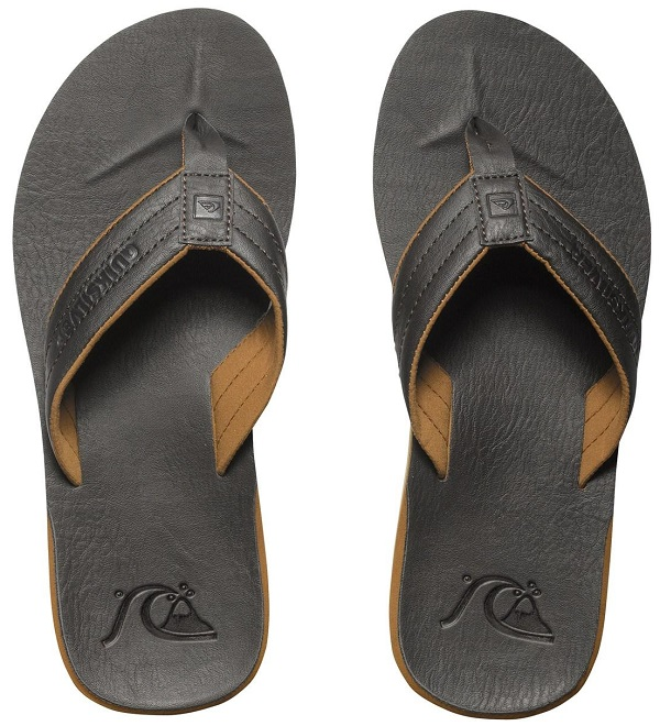Quiksilver Carver Nubuck Men's Sandal - Dark Brown