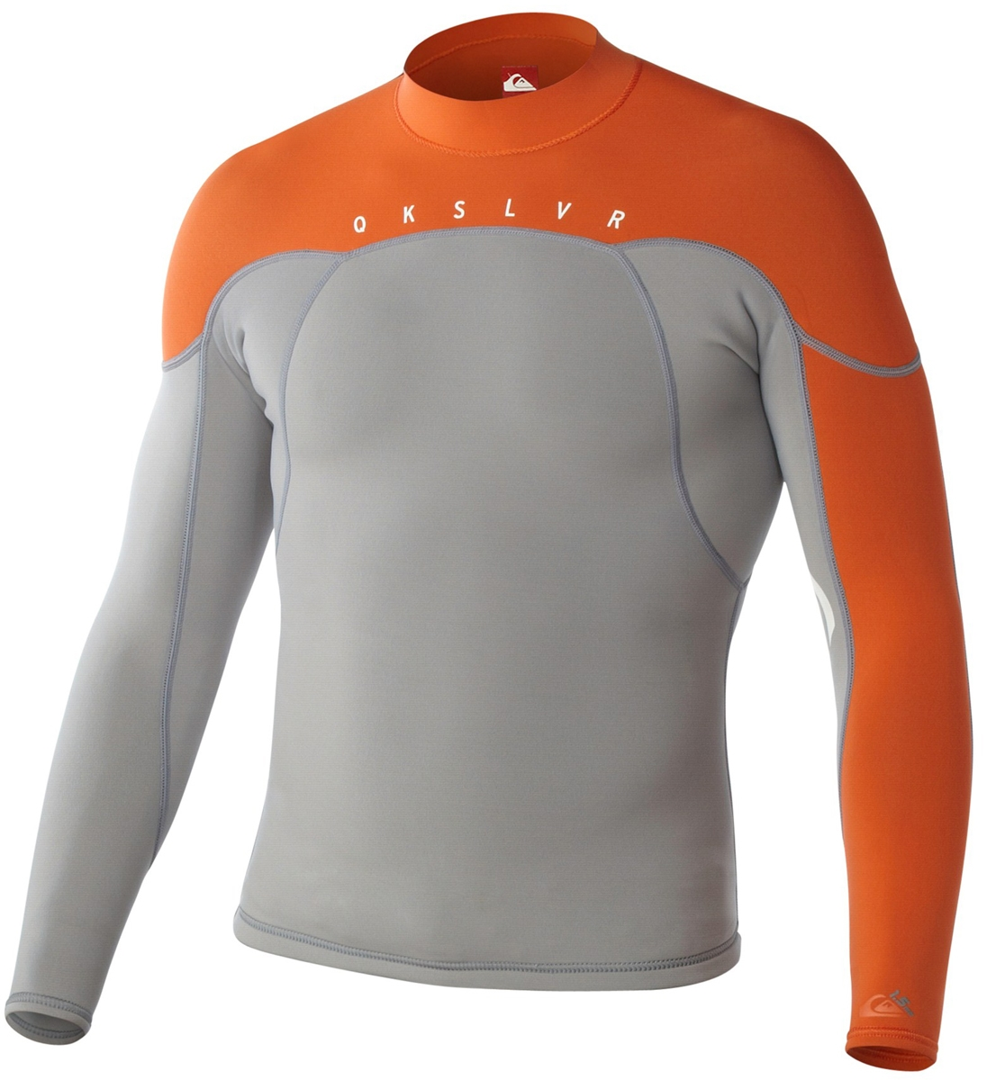 Quiksilver Men's Neoprene Jacket 1.5mm Syncro Grey/Orange