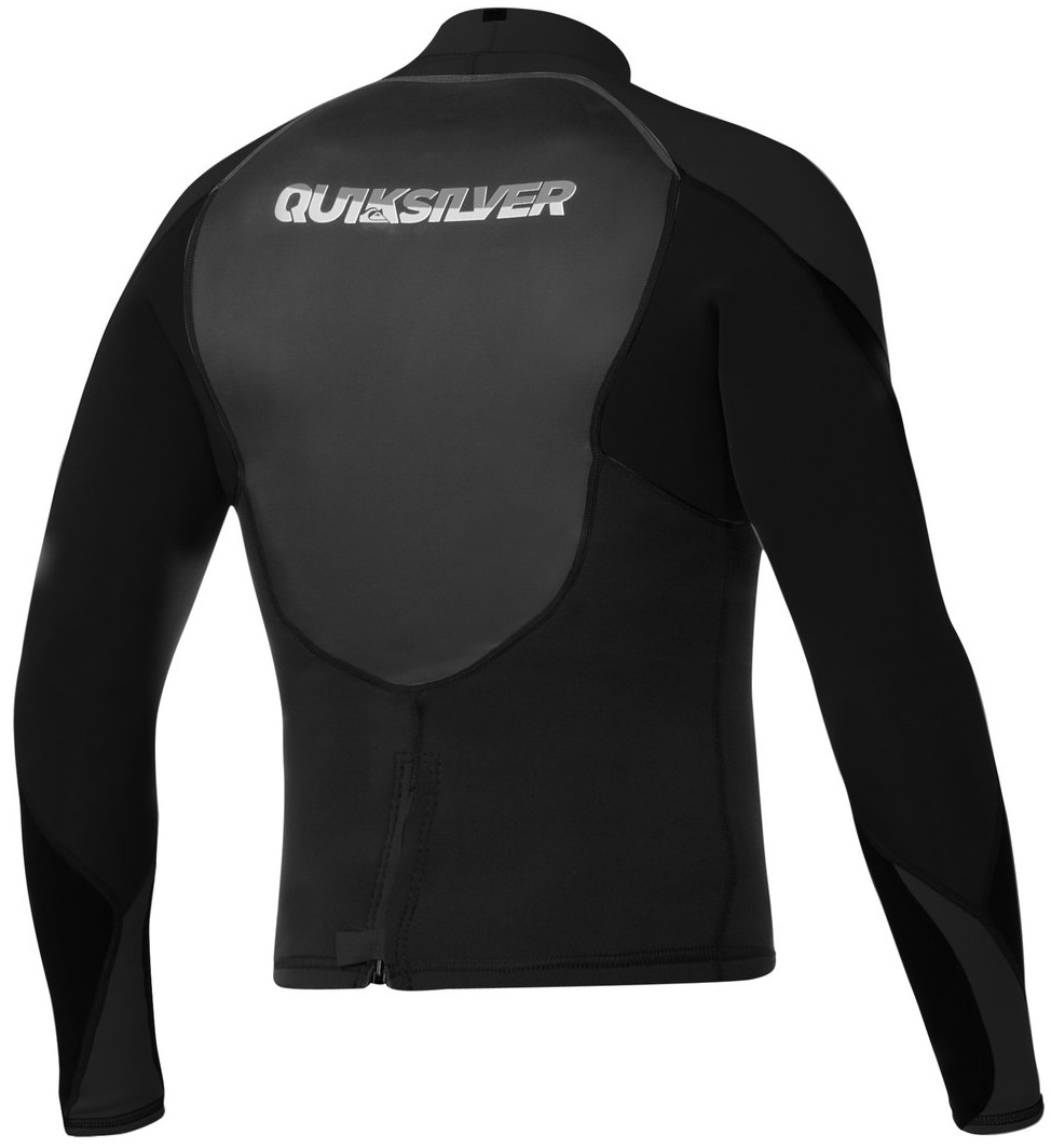 Quiksilver Men's Neoprene Jacket 1.5mm Syncro Smoothie Black - AQYW803002-KVD0